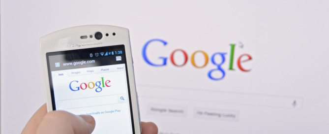 google search on phone and pc