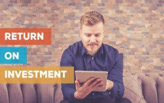 return on investment from internet website marketing