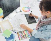 graphic design for dental practice website