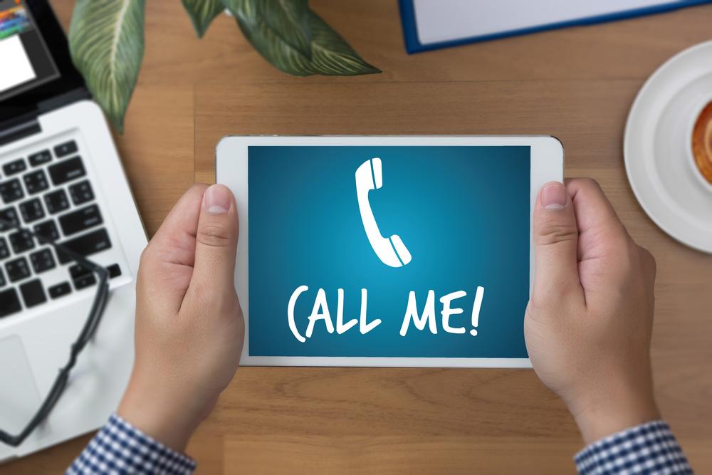 new patient calls from website