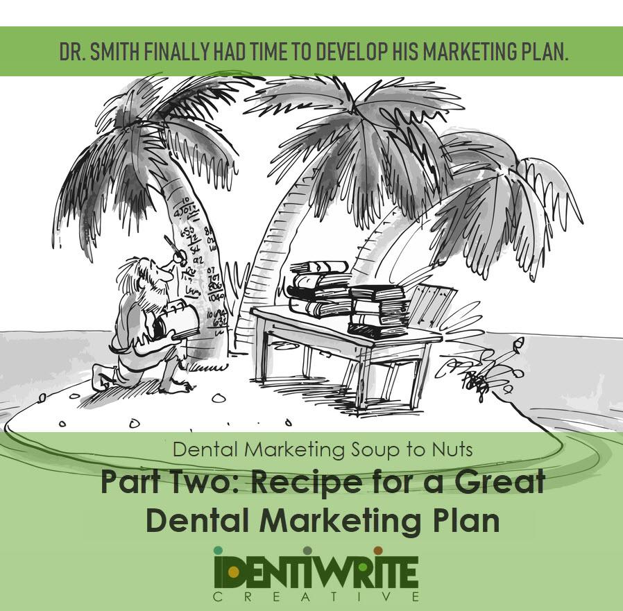 dental office marketing plan cartoon