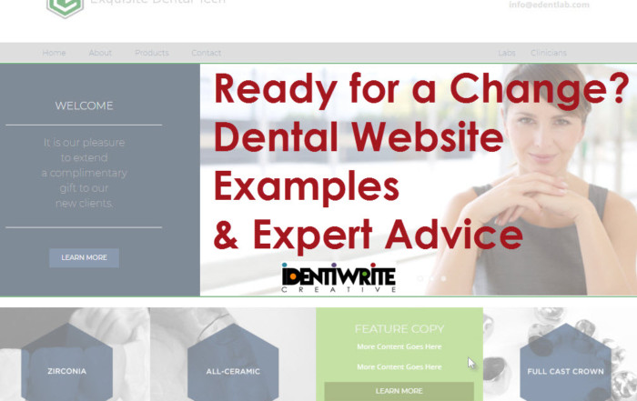 dental website examples and expert advice cover image