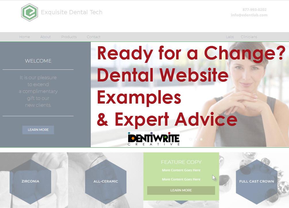 Web Copy Examples